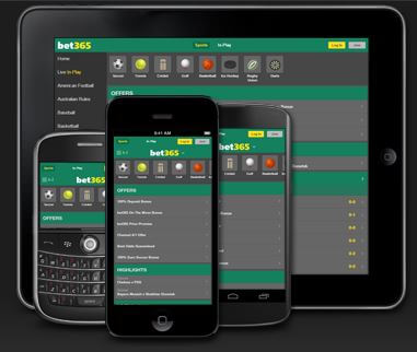 bet365 mobiilisovellus