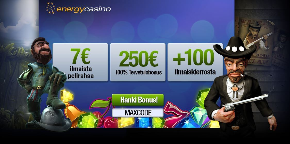 Energy Casino bonus Offer