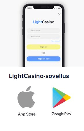 LightCasino-sovellus